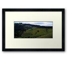 Strzelecki Ranges Framed Print
