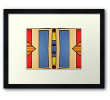 ABSTRACT 812 Framed Print