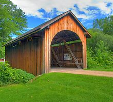 Stonefield Covered Bridge by ECH52