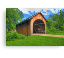 Stonefield Covered Bridge Canvas Print