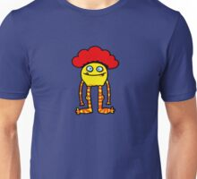 Red haired yellow monster Unisex T-Shirt