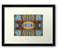 ABSTRACT 529 Framed Print