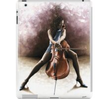 Tranquil Cellist iPad Case/Skin