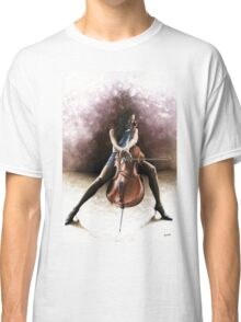 Tranquil Cellist Classic T-Shirt