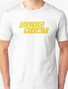 Olio Fiat - Yellow Unisex T-Shirt