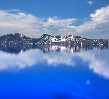 Crater Lake ~ Clouds by CarrieAnn