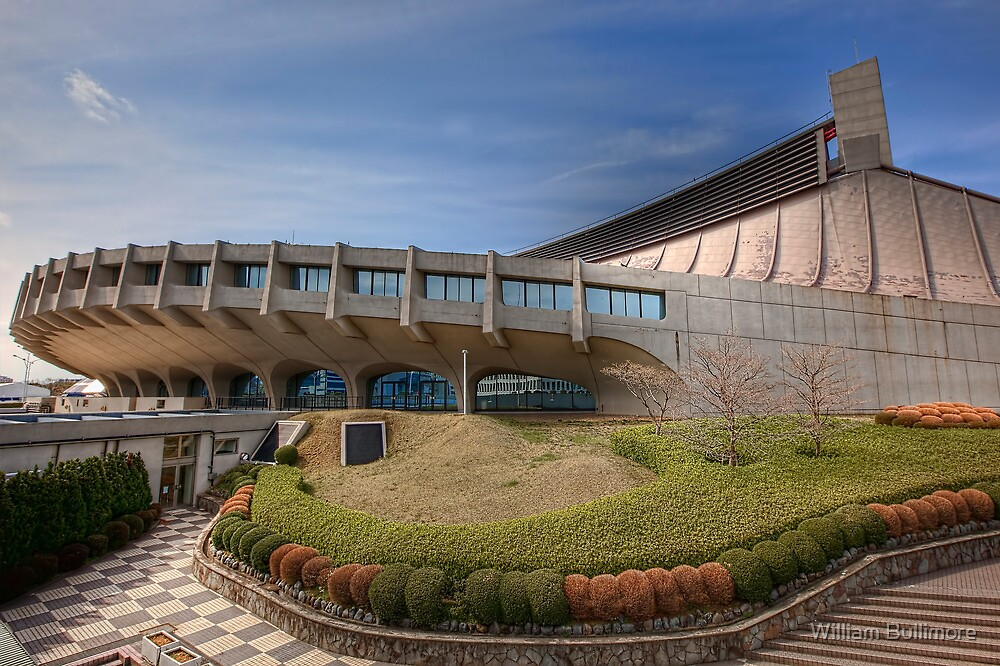 Yoyogi National Gymnasium • Tokyo by William Bullimore