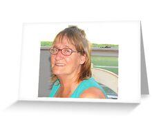 Visitor at Janet Rise Greeting Card