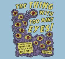 Too Many Eyes Baby Tee