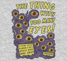 Too Many Eyes One Piece - Long Sleeve