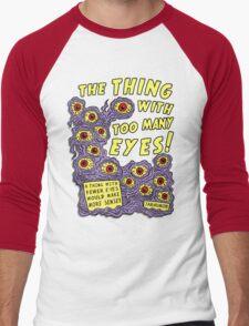 Too Many Eyes Men's Baseball ¾ T-Shirt
