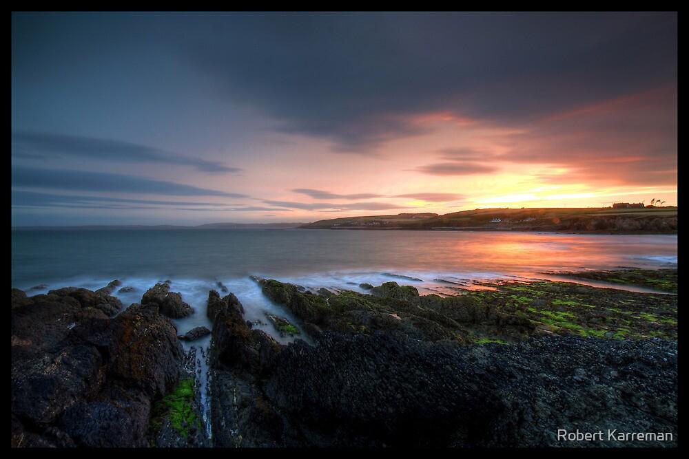 Pink sunset by Robert Karreman