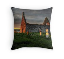 End of the end II Throw Pillow