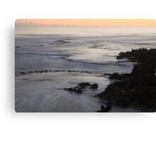 Apricot Coast Canvas Print