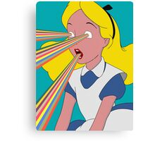 Alice is Dead Canvas Print