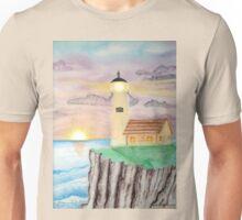 Lighthouse Pastel Unisex T-Shirt
