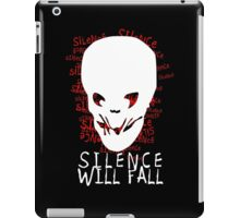 Silence Will Fall iPad Case/Skin