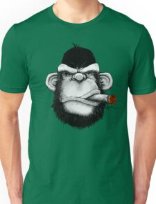 Cigar Monkey Unisex T-Shirt