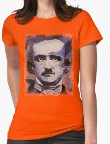 Edgar Allan Poe Womens Fitted T-Shirt