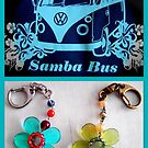 T1 Samba Bus keyrings by ©The Creative Minds