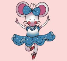 Cute mouse girl ballet dancer Kids Clothes
