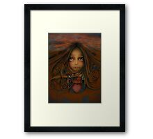 Heart of the Earth Framed Print