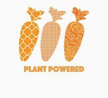 'Plant Powered' Carrot Design Vegan T-shirt Unisex T-Shirt