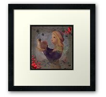 Love Flies-COLLABORATION WITH ARTIST JD Framed Print