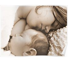 Newborn and Mother Poster