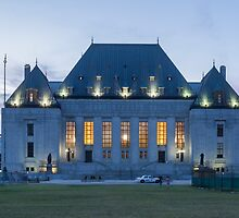 Supreme Court of Canada building - Ottawa, Canada by Josef Pittner
