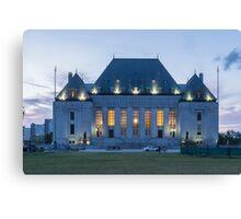 Supreme Court of Canada building - Ottawa, Canada Canvas Print