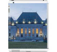 Supreme Court of Canada building - Ottawa, Canada iPad Case/Skin
