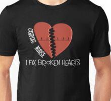 Cardiac Nurse Fixes Broken Hearts Unisex T-Shirt