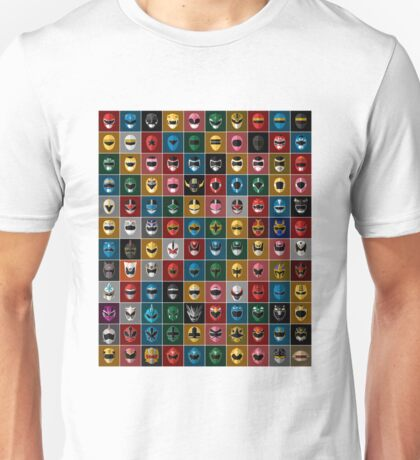 Complete Mighty Morphin Power Rangers Unisex T-Shirt