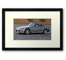 Silver S 2000 Framed Print