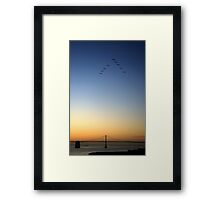 San Francisco Sunrise - USA Framed Print