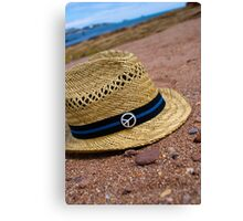 Summers day at the beach Canvas Print