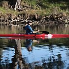 Canoeing on the Murray by John Vandeven
