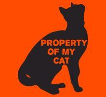Property of my cat by ellienoir
