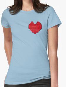 AFOL's Heart Womens Fitted T-Shirt