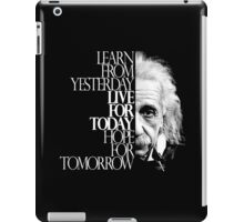 Live for Today 2 iPad Case/Skin