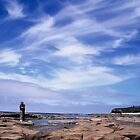 skyscape. cape paterson, victoria  by tim buckley   bodhiimages