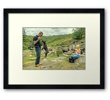 Tarn And The Tourists Framed Print