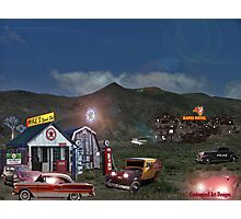 Welcome To The Bates Motel Photographic Print