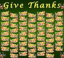 Give Thanks by JMcCombie