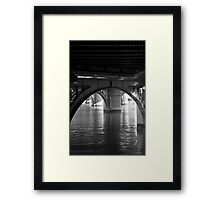 No Trolls Here Framed Print