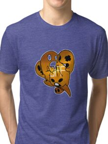 OFF specter ghosts Tri-blend T-Shirt