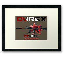 M4A1-S Cyrex Framed Print