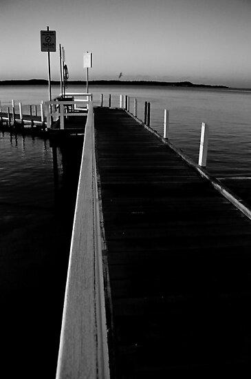 sunrise, winter. inverloch jetty, victoria by tim buckley | bodhiimages