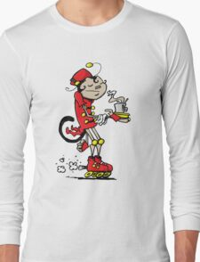 Monkey Barista Long Sleeve T-Shirt